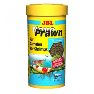 JBL Novo Prawn 250 ml mangime per gamberetti d'acquario