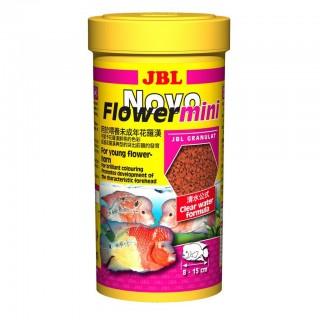 JBL Novo Flower mini 250 ml mangime per ciclidi Flowerhorn pesci d'acquario