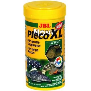 JBL Novo Pleco XL 1000 ml mangime in compresse per pesci da fondo d'acquario