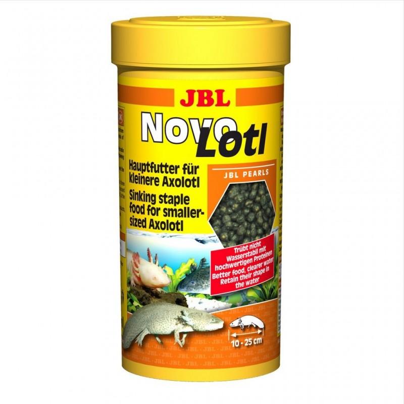 JBL NovoLotl 250 ml mangime in perle per pesci Axolotl  d'acquario