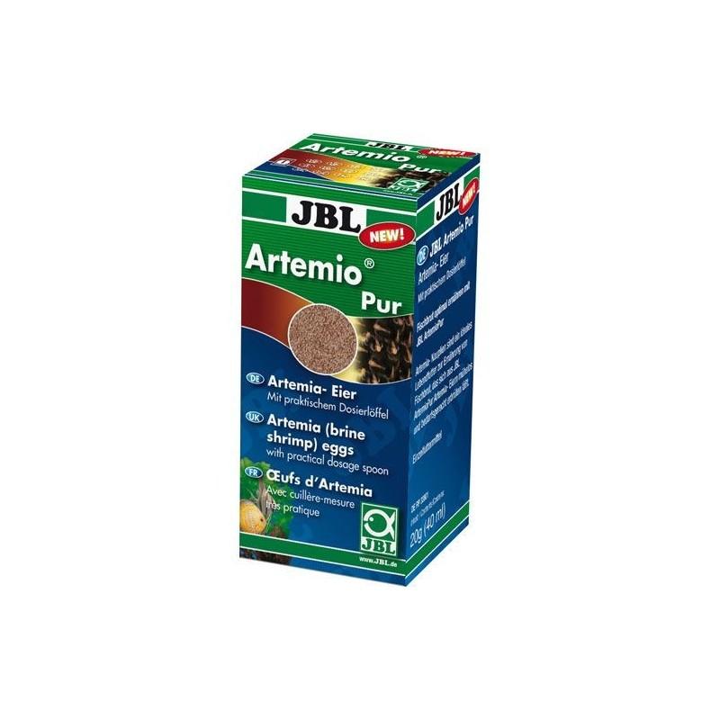 JBL ArtemioPur 40ml Uova d'artemia (qualità superiore) mangime vivo per pesci d'acquario