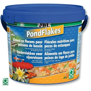 JBL PondFlakes 5.5 lt Mangime in scaglie per pesci da laghetto carpe pesci rossi