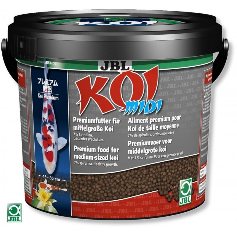 JBL Nature Concept Pond - Koi Midi 5500ml Alimentazione Arricchita con 7% Spirulina per Carpe dai 10cm