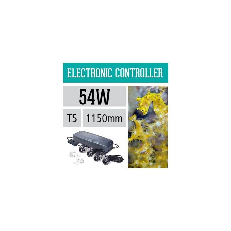Arcadia Centralina elettrinica impermeabile ULTRA SEAL T5 2x54W per neon d'acquario - ACE254X