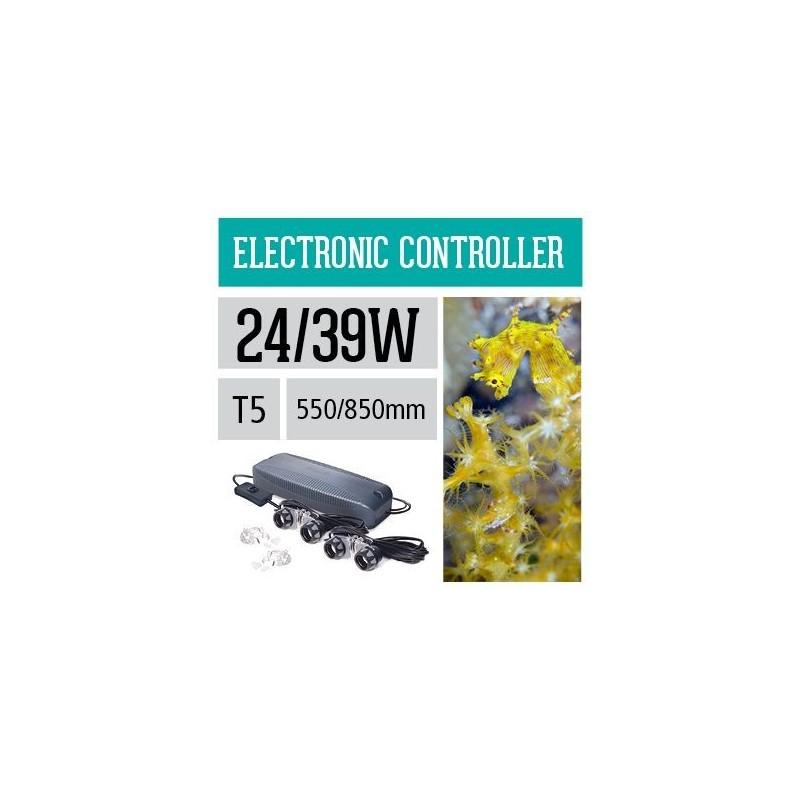 Arcadia Centralina elettrinica impermeabile ULTRA SEAL T5 2x24W 2x39W per neon d'acquario - ACE2U5X