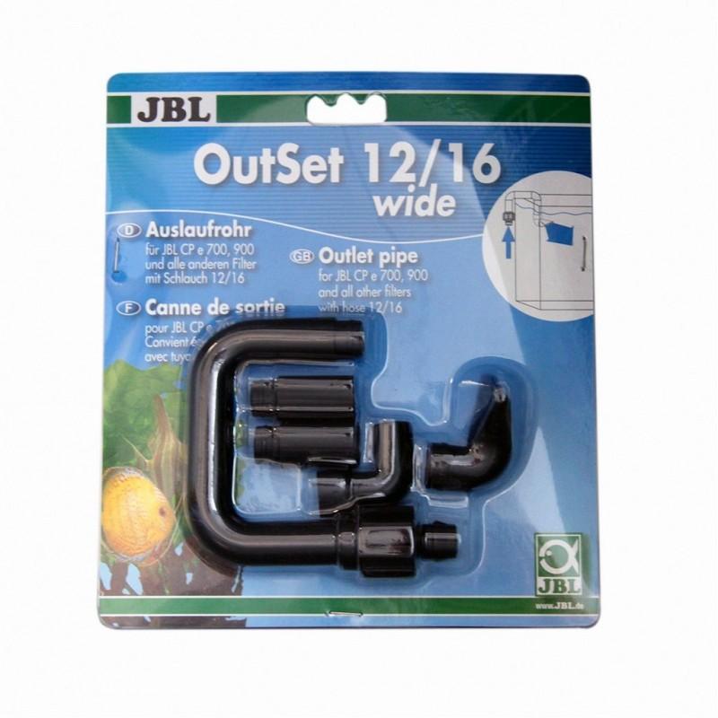 JBL OutSet 12/16 Wide Set Di Mandata Per Tubi 12/16
