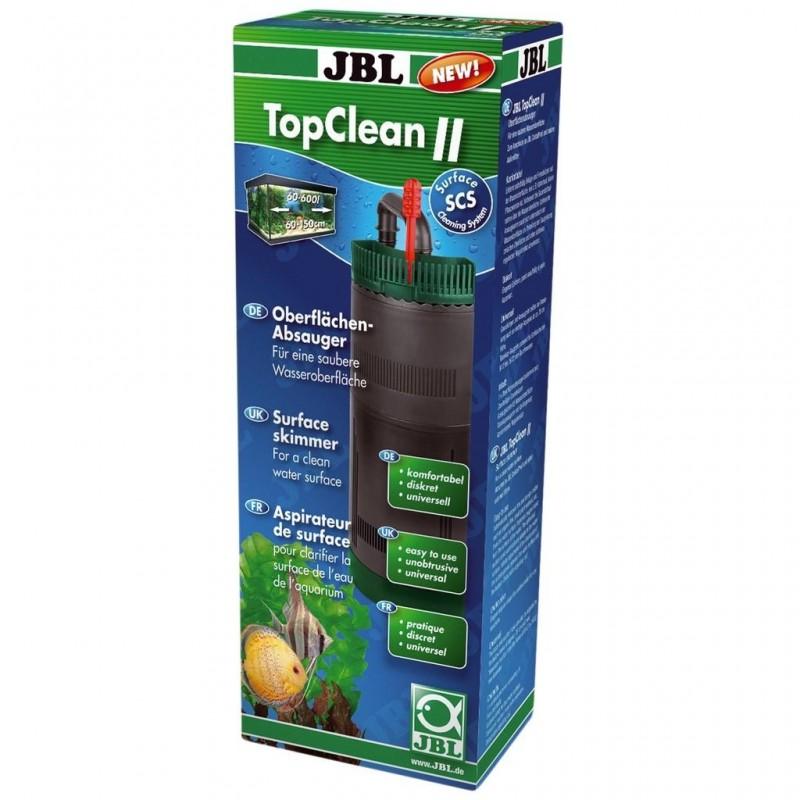 JBL TopClean II aspiratore di superficie compatibile con tutti i modelli di pompe e filtri esterni