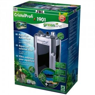 JBL Filtro Esterno Cristal Profi E1901 Green Line - Completo di Materiali Filtranti per Acquari Fino a 800 Litr