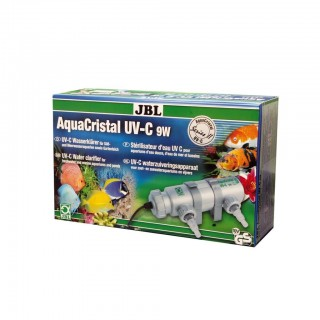 JBL AquaCristal Sterilizzatore UV-C 9 Watt Serie II lampada UV per acquario e laghetti