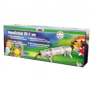 JBL AquaCristal Sterilizzatore UV-C 36 Watt Serie II lampada UV per acquario e laghetti