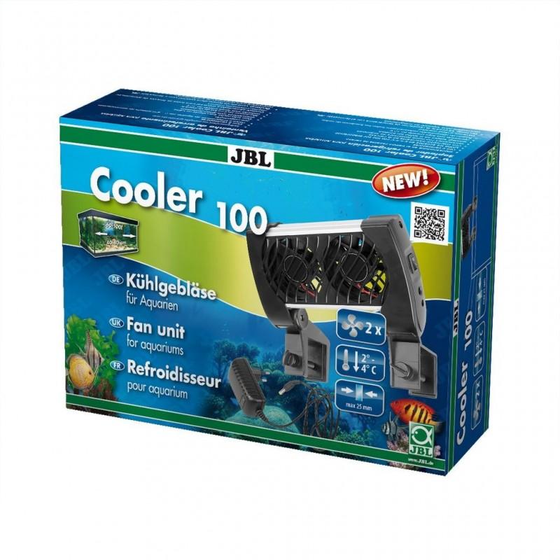 JBL Cooler 100 Sistema di Raffreddamento a 2 Ventole Per Acquari fino a 100 Litri