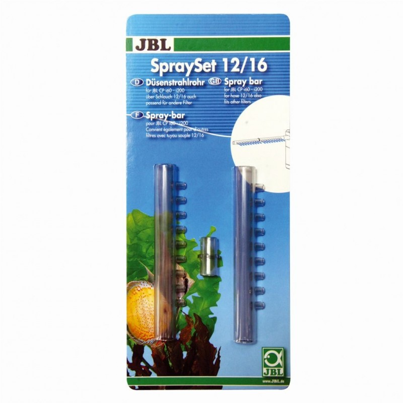 JBL SpraySet 12/16 spraybar per acquario