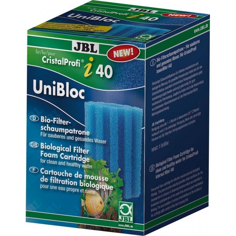 JBL UniBloc CristalProfi i40/TekAir blu, grosso cartuccia spugna per filtro d'acquario