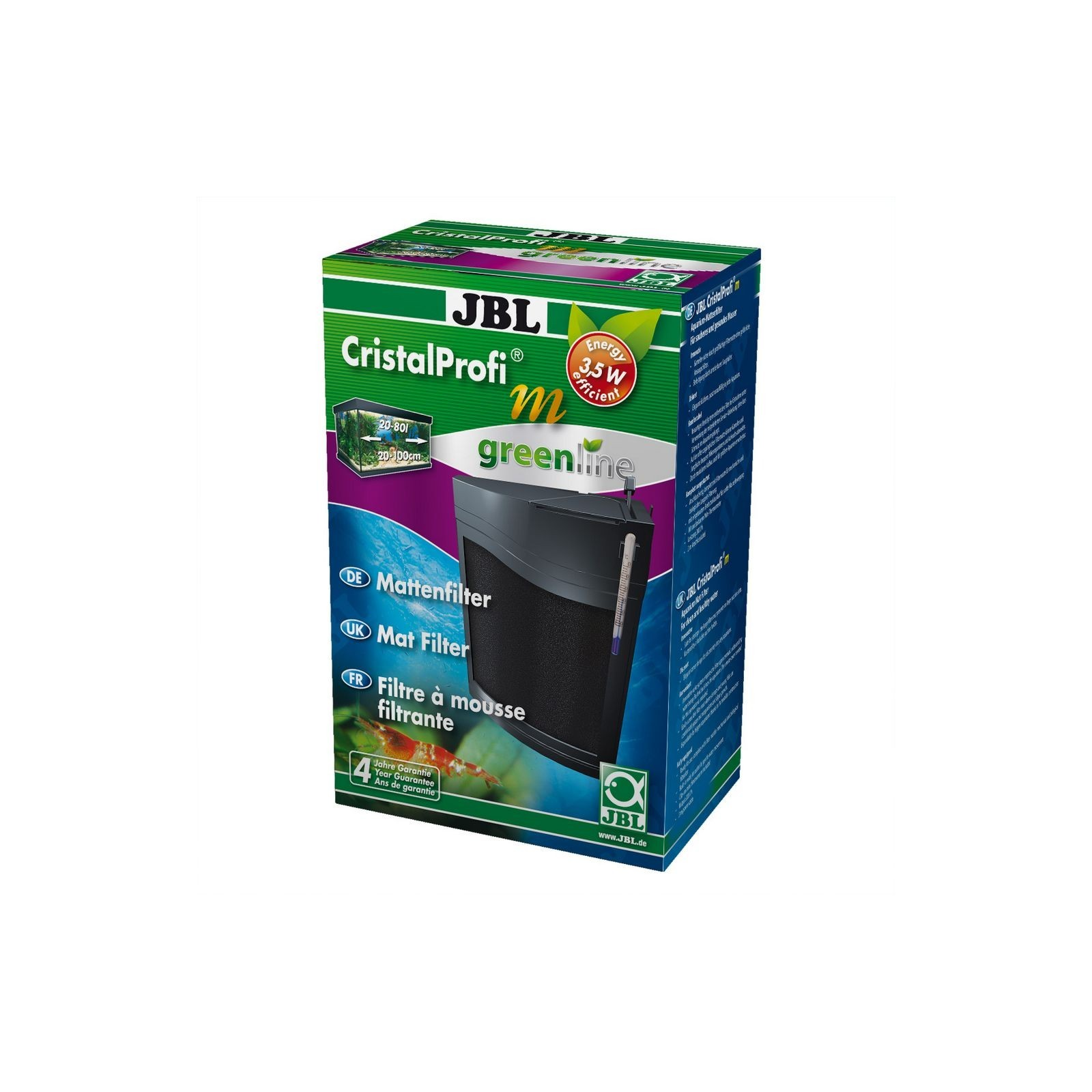 JBL Filtro interno CristalProfi m greenline per acquario