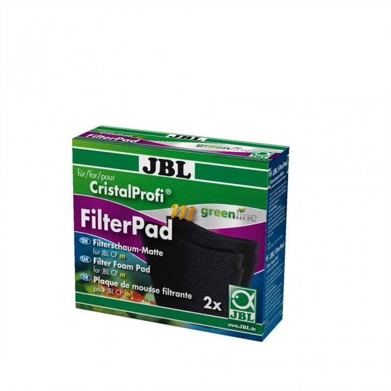 JBL CristalProfi m greenline FilterPad 2 pezzi spugna per filtro d'acquario