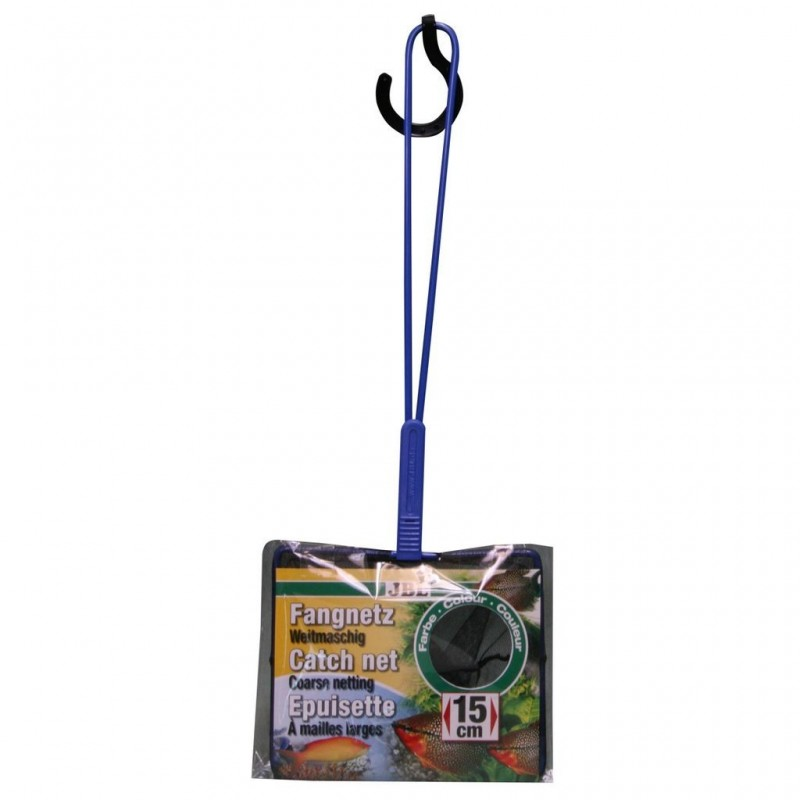 JBL RETINO per acquario maglia larga con rete nera 15cm