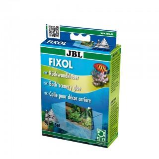 JBL FIXOL 50ml Colla Liquida d'acquario per Incollare sfondi Completo di Spatola