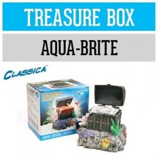 Arcadia Scrigno tesoro per Aqua-Brite decorazione ornamento per acquario - CAD22