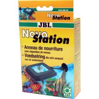 JBL Novo Station Mangiatoia Galleggiante per acquario Completa di Supporto con Ventosa