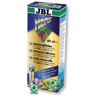 JBL Pro Haru nero 80ml Collante Universale Per Impermeabilizzare Incollare E Fissare Vetri E Decorazioni in acquario