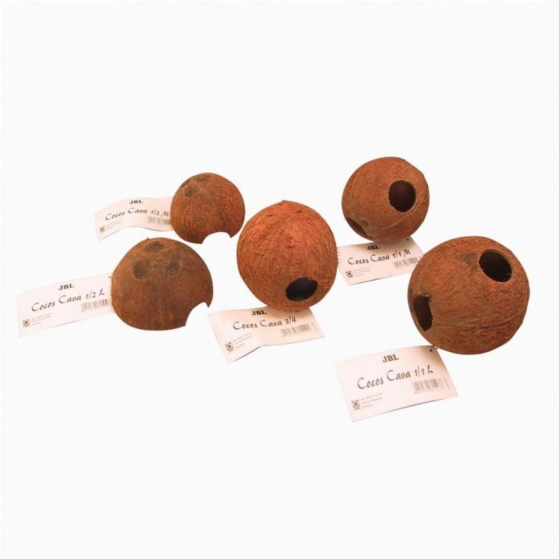 JBL COCOS CAVA 1-2 L Grotte in gusci di noci di cocco per acquario