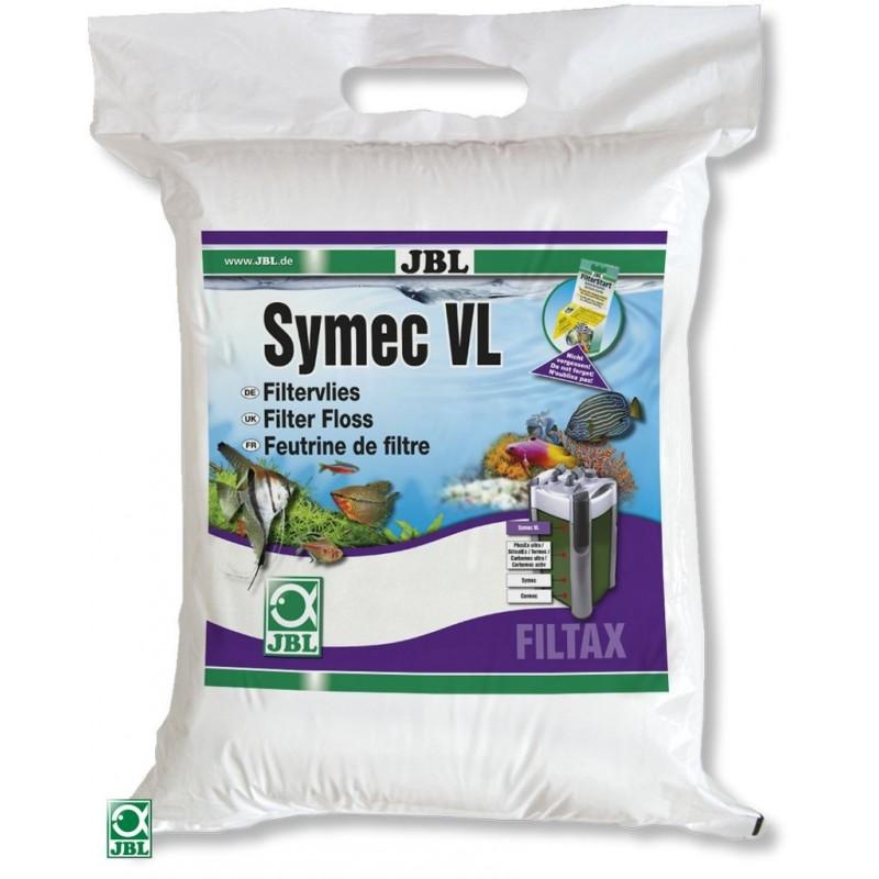 JBL Symec VL Vello filtrante 80x25x3 cm ovatta per filtri d'acquario