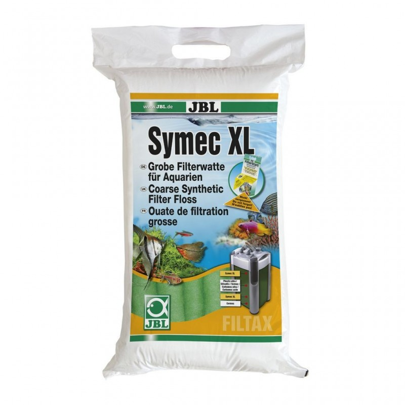 JBL SYMEC Filterwatte 250 g XL Lana Filtrante Sintetica per filtri d'acquario