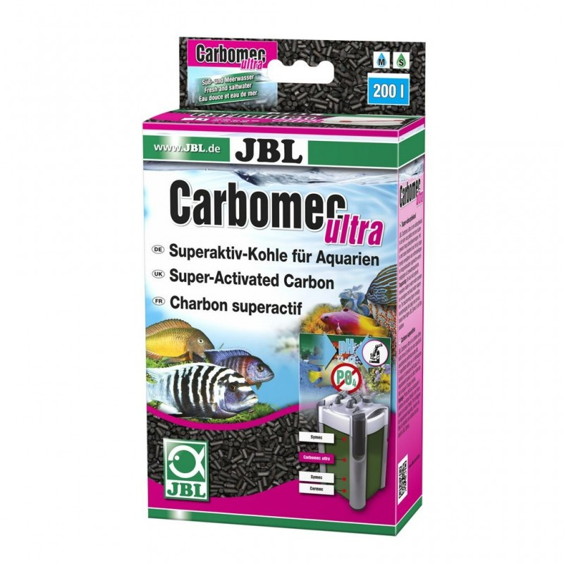 JBL CARBOMEC Ultra Gran. 450 gb Carbone attivo superattivo granulato per acquario