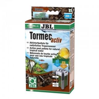 JBL TORMEC TORBA GRANULATA 500 g Pellet di torba attiva per acquario