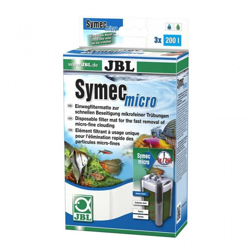 JBL SYMEC MICRO 25x75 cm Vello filtrante di microfibre contro ogni genere di intorbidamento dell'acqua in acquario
