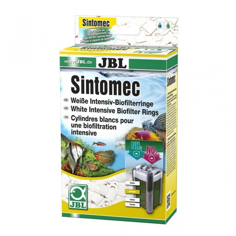 JBL SINTOMEC 450g Cilindretti bianchi bioflitranti intensi per filtri d'acquario dolce e marino