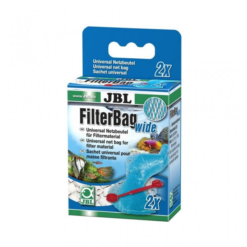 JBL FILTERBAG WIDE 2 pz Sacchetto per materiale filtrante grosso in filtro d'acquario