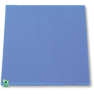 JBL Spugna filtrante blu pori fini 50x50x10 cm per filtri d'acquario