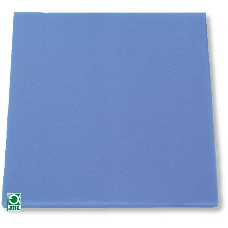 JBL Spugna filtrante blu pori grossi 50x50x10 cm per filtri d'acquario