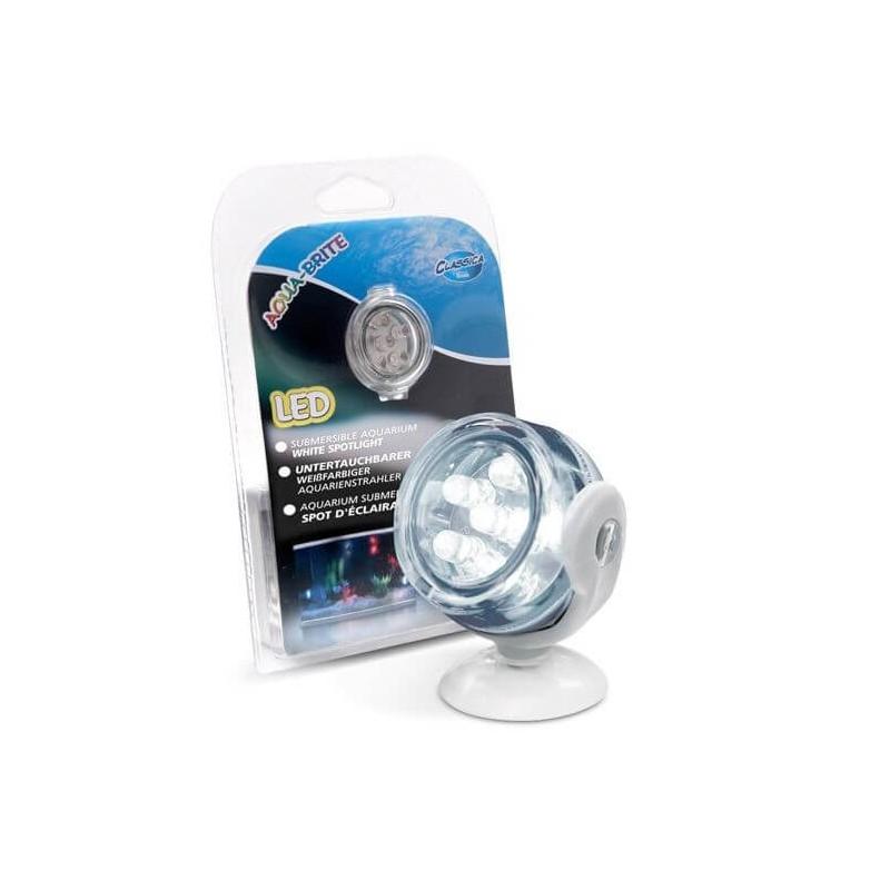 Arcadia Faretto a LED sommerso IP68 Aqua-Brite bianco luce per acquario - CLW6