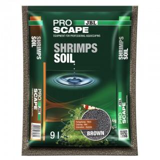 JBL ProScape ShrimpSoil Brown 9lt fondo substrato per acquari di gamberetti e caridine