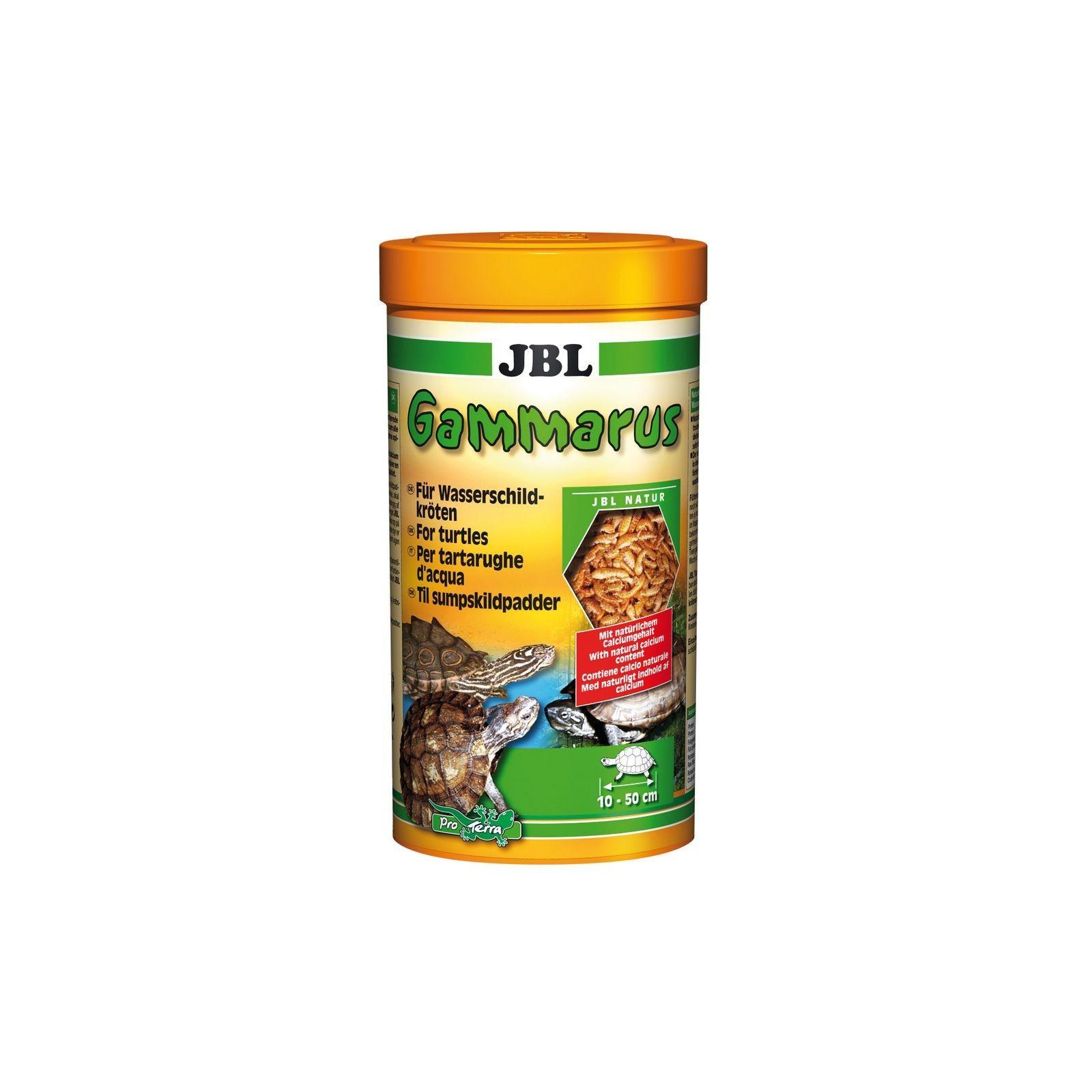 JBL Gammarus 1 lt mangime per tartarughe d'acqua
