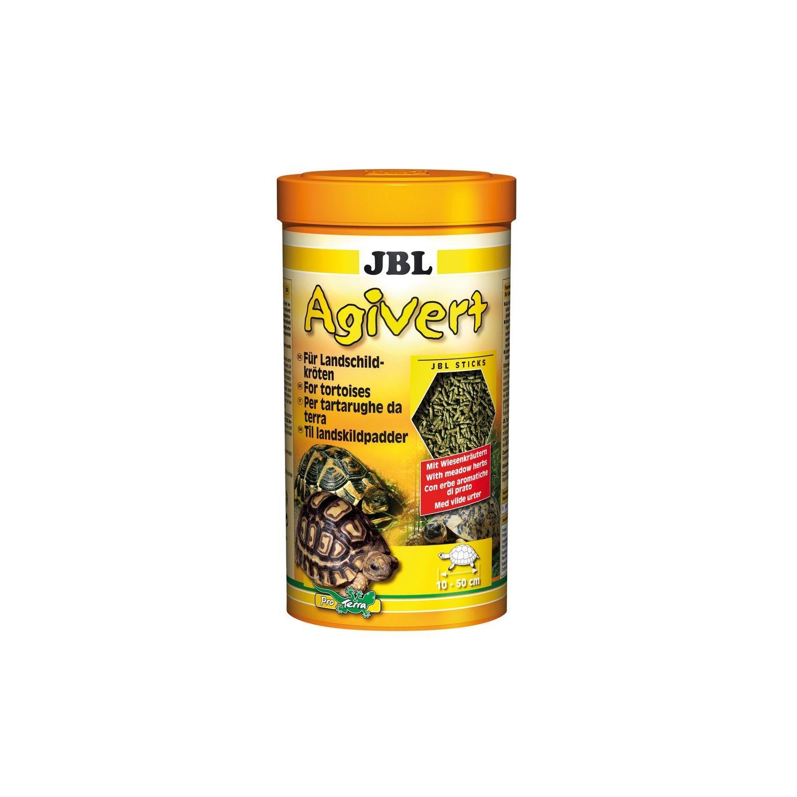 JBL Agivert 1 lt mangime con vitamine per tartarughe di terra
