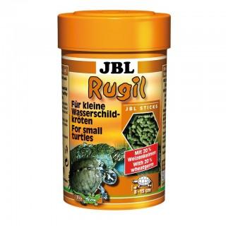 JBL Rugil 100 ml mangime con proteine di pesce per tartarughe d'acqua e palude