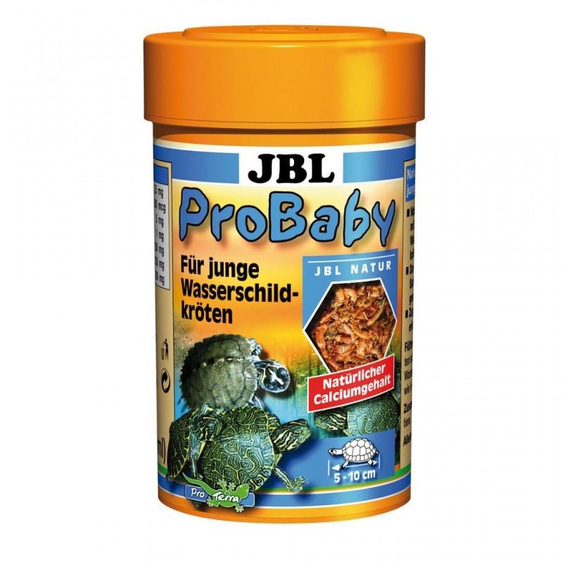 JBL ProBaby 100 ml mangime con proteine di pesce per tartarughe giovani d'acqua e palude