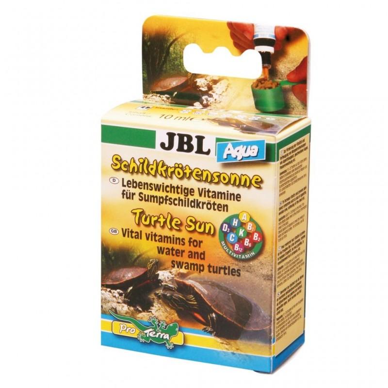 JBL Sole per tartarughe Aqua 10 ml Preparato plurivitaminico per tartarughe d'acqua