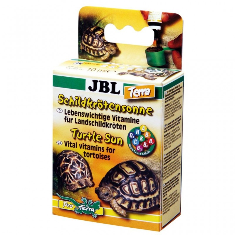JBL Sole per tartarughe Terra 10 ml Preparato plurivitaminico per tartarughe di terra