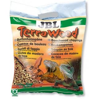 JBL TerraWood 5 lt Trucioli di faggio materiale di fondo naturale per terrari e lettiere