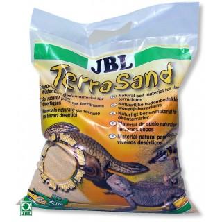 JBL TerraSand giallo natura 7.5 kg Suolo per terrari deserti