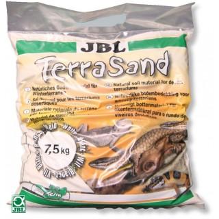 JBL TerraSand bianco natura 7.5 kg Suolo per terrari deserti