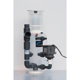 LGMAquari LGs450 Schiumatoio interno/esterno con sistema venturi, girante a spazzola per acquari fino a 450 litri