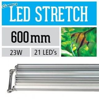 Arcadia Lampada classica STRETCH LED freashwater 60 cm 23 W plafoniera per acquari d'acqua dolce - CS60XF