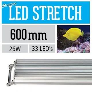 Arcadia Lampada classica STRETCH LED marine 60 cm 26 W plafoniera per acquario marino - CS60XM