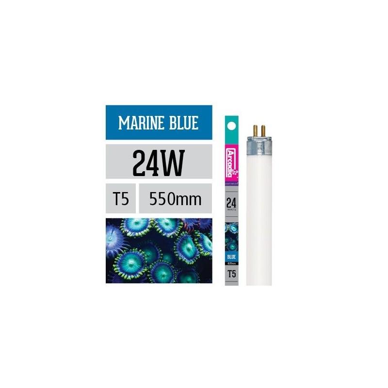 Arcadia Neon Marine Blue T5 24W 550mm luce per acquario marino esalta i coralli - FMB24T5