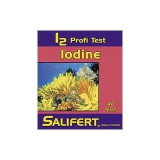 Salifert Profi Test per misurare Iodine in acquario marino